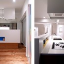 SHAPES-円形の書斎、台形の寝室、そして…の写真 キッチン