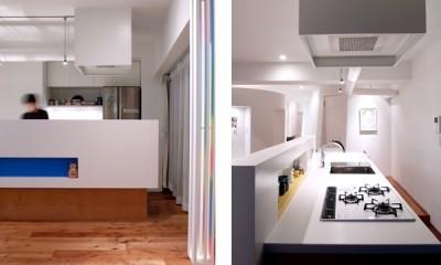 SHAPES-円形の書斎、台形の寝室、そして… (キッチン)