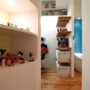 SHAPES-円形の書斎、台形の寝室、そして…の写真 ギャラリースペース
