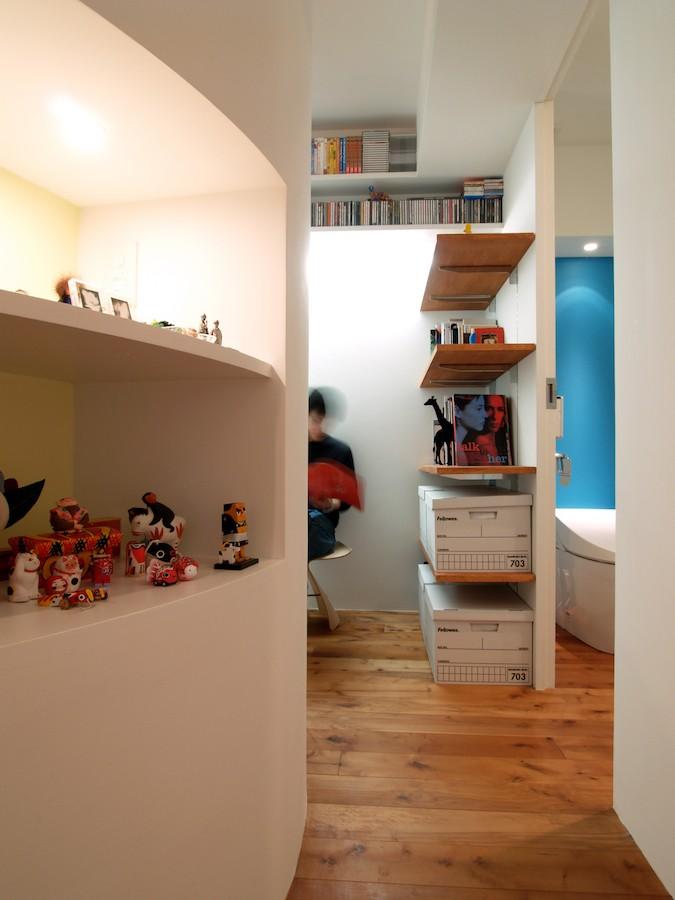その他事例:ギャラリースペース(SHAPES-円形の書斎、台形の寝室、そして…)