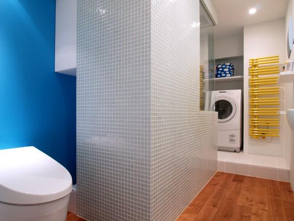 バス/トイレ事例:サニタリースペース(SHAPES-円形の書斎、台形の寝室、そして…)
