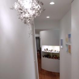 SHAPES-円形の書斎、台形の寝室、そして… (廊下)