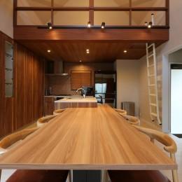 ダイニングキッチン (唯一無二のリノベーション CASE 7)