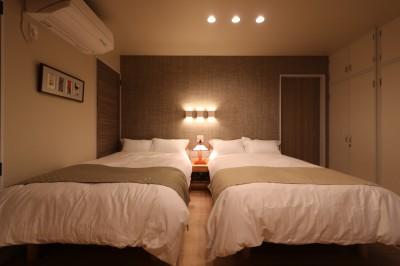 ベッドルーム (唯一無二のリノベーション CASE 7)