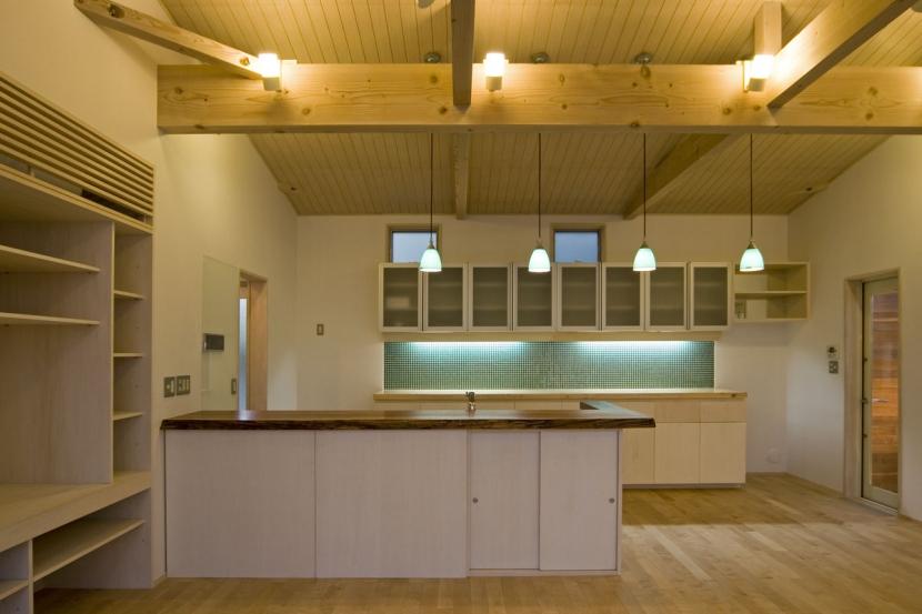 我孫子のコートハウス/平屋の家の写真 キッチン