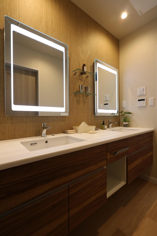 バス/トイレ事例:洗面(唯一無二のリノベーション CASE 7)