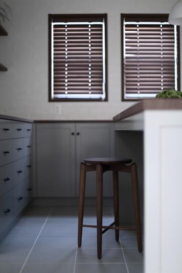 キッチン事例:FILEオリジナル家具(T邸)
