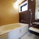 二面採光の部屋の写真 バスルーム