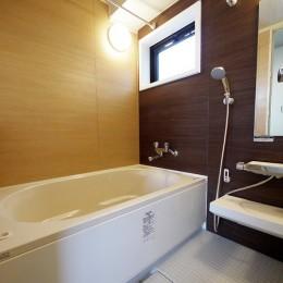二面採光の部屋 (バスルーム)