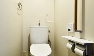 家族の思いやりがいっぱい ~ 介護リノベーション ~ (トイレ)