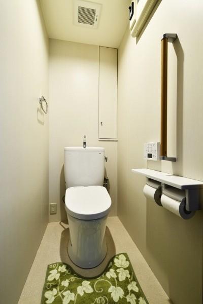 トイレ (家族の思いやりがいっぱい ~ 介護リノベーション ~)