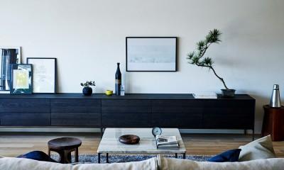 RE : Apartment UNITED ARROWS LTD. MASTER PLAN B ~住む人の個性を演出する上質な設えと機能美を備えたリノベーション~