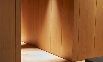 RE : Apartment UNITED ARROWS LTD. CASE002 / PLAN B ~住む人の個性を演出する上質な設えと機能美を備えたリノベーション~ (玄関)