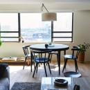 RE : Apartment UNITED ARROWS LTD. MASTER PLAN B ~住む人の個性を演出する上質な設えと機能美を備えたリノベーション~の写真 リビングダイニング