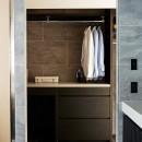 RE : Apartment UNITED ARROWS LTD. MASTER PLAN B ~住む人の個性を演出する上質な設えと機能美を備えたリノベーション~の写真 ランドリールーム