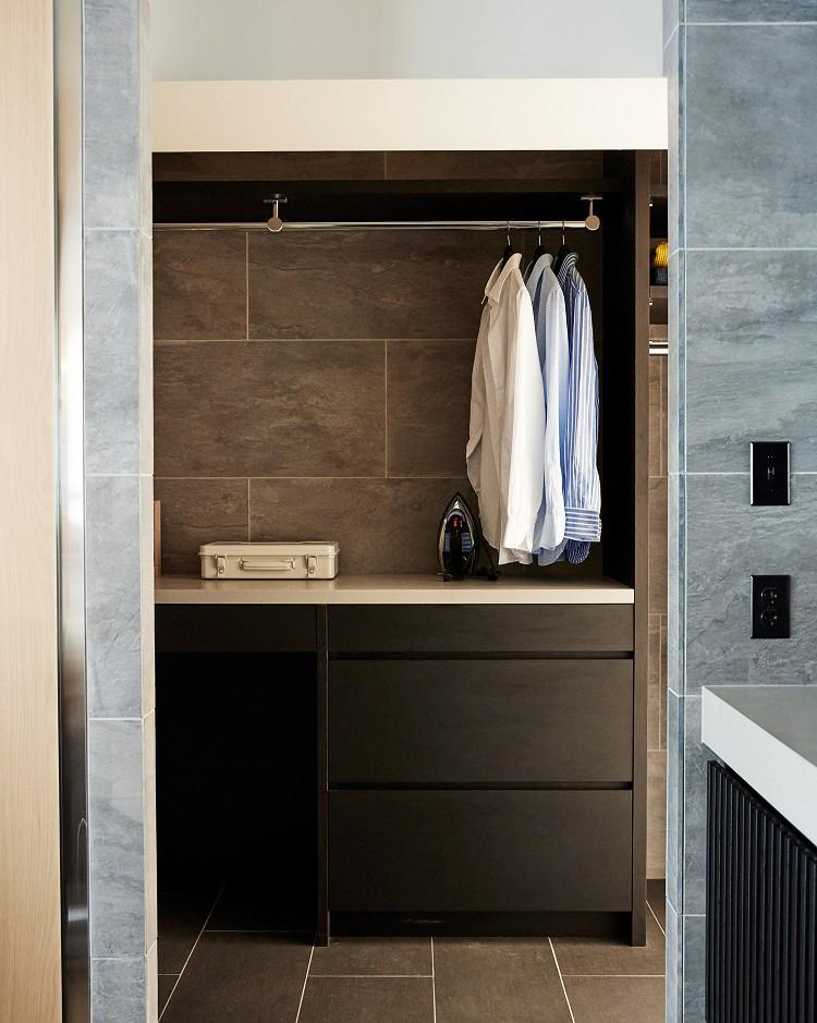 マイリノbyグローバルベイス「RE : Apartment UNITED ARROWS LTD. CASE002 / PLAN B ~住む人の個性を演出する上質な設えと機能美を備えたリノベーション~」