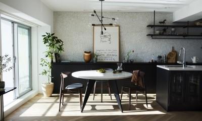 RE : Apartment UNITED ARROWS LTD. MASTER PLAN A ~店舗の技術を取り入れた見せる収納~