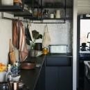 RE : Apartment UNITED ARROWS LTD. MASTER PLAN A ~店舗の技術を取り入れた見せる収納~の写真 人気のアイランドキッチンを採用