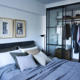 RE : Apartment UNITED ARROWS LTD. MASTER PLAN A ~店舗の技術を取り入れた見せる収納~ (洋室 収納に嬉しいウォークインクローゼット付き)