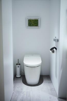 RE : Apartment UNITED ARROWS LTD. MASTER PLAN A ~店舗の技術を取り入れた見せる収納~ (TOTO製洗浄便座付トイレ新規交換)