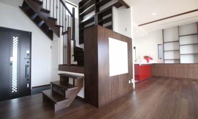 階段書斎|湘南のシーサイドハウス