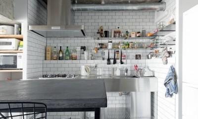 ザ・インダストリアルリノベーション (キッチン)