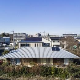 大きな屋根の平屋 (MYーhouse つくば)