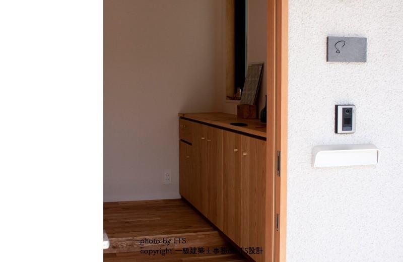 SRhouse (玄関)