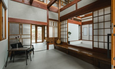 古民家カフェみたいな日本家屋リノベーション(下戸山の家リノベーション)