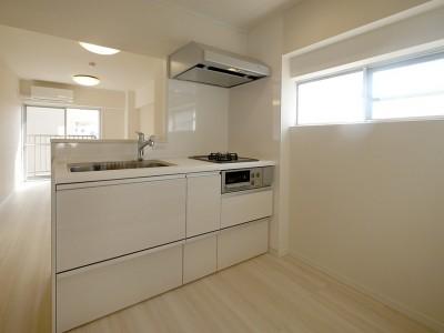 キッチン (築47年を快適な居住空間に)