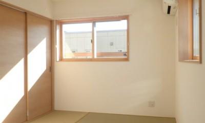 制震ユニット「MIRAIE(ミライエ)」採用の家 (2階寝室)