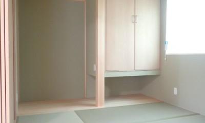 制震ユニット「MIRAIE(ミライエ)」採用の家 (和室)