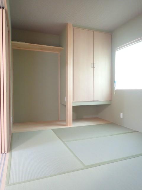 その他事例:和室(制震ユニット「MIRAIE(ミライエ)」採用の家)