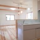 制震ユニット「MIRAIE(ミライエ)」採用の家の写真 キッチン