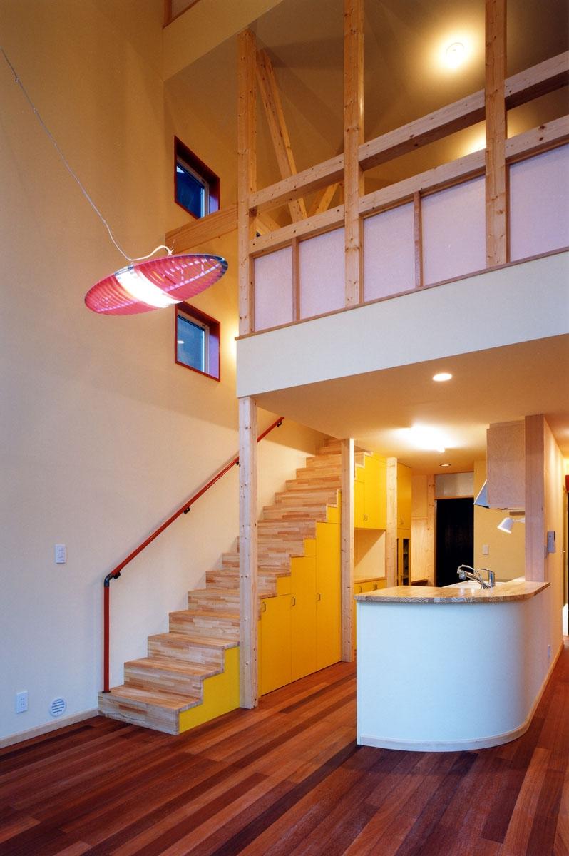 建築家:米村和夫「子供達が元気に遊びまわる家」