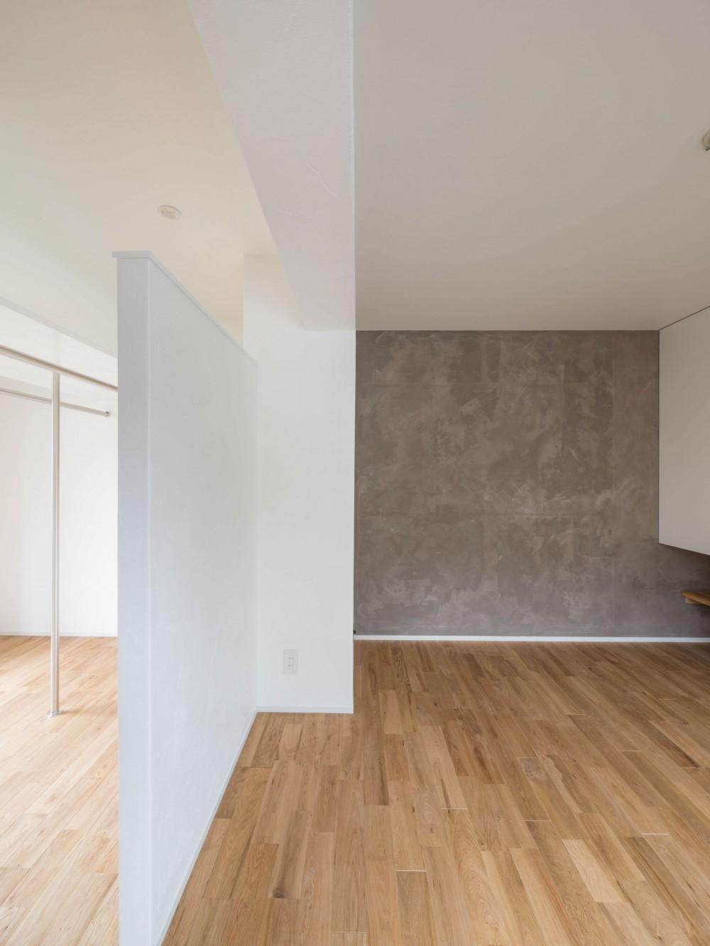 壁孔の家 (寝室とウォークインクローゼットの構成)
