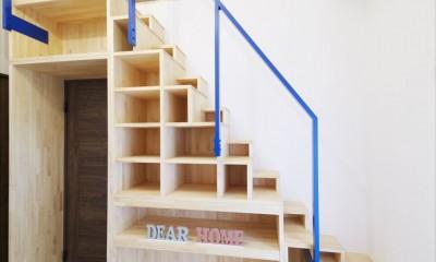 階段収納|M様邸