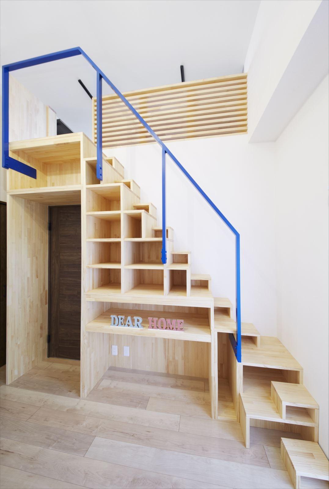 収納事例:階段収納(M様邸)