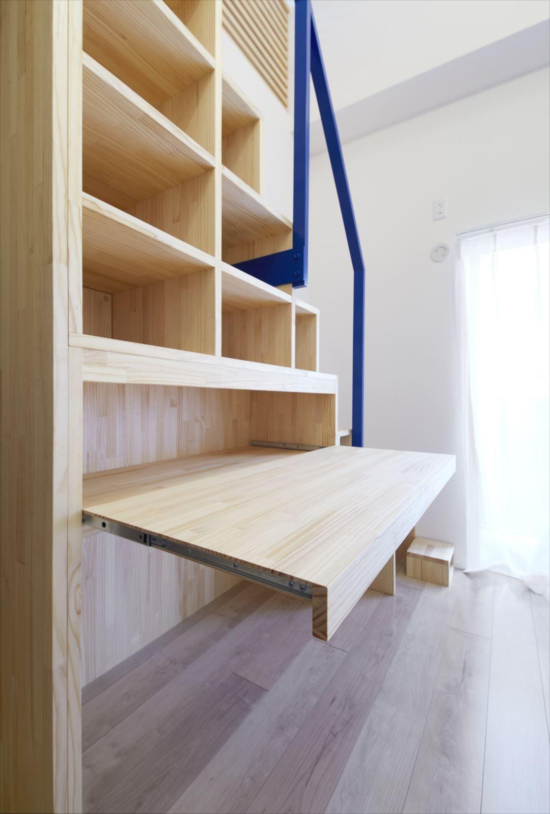 収納事例:階段収納2(M様邸)