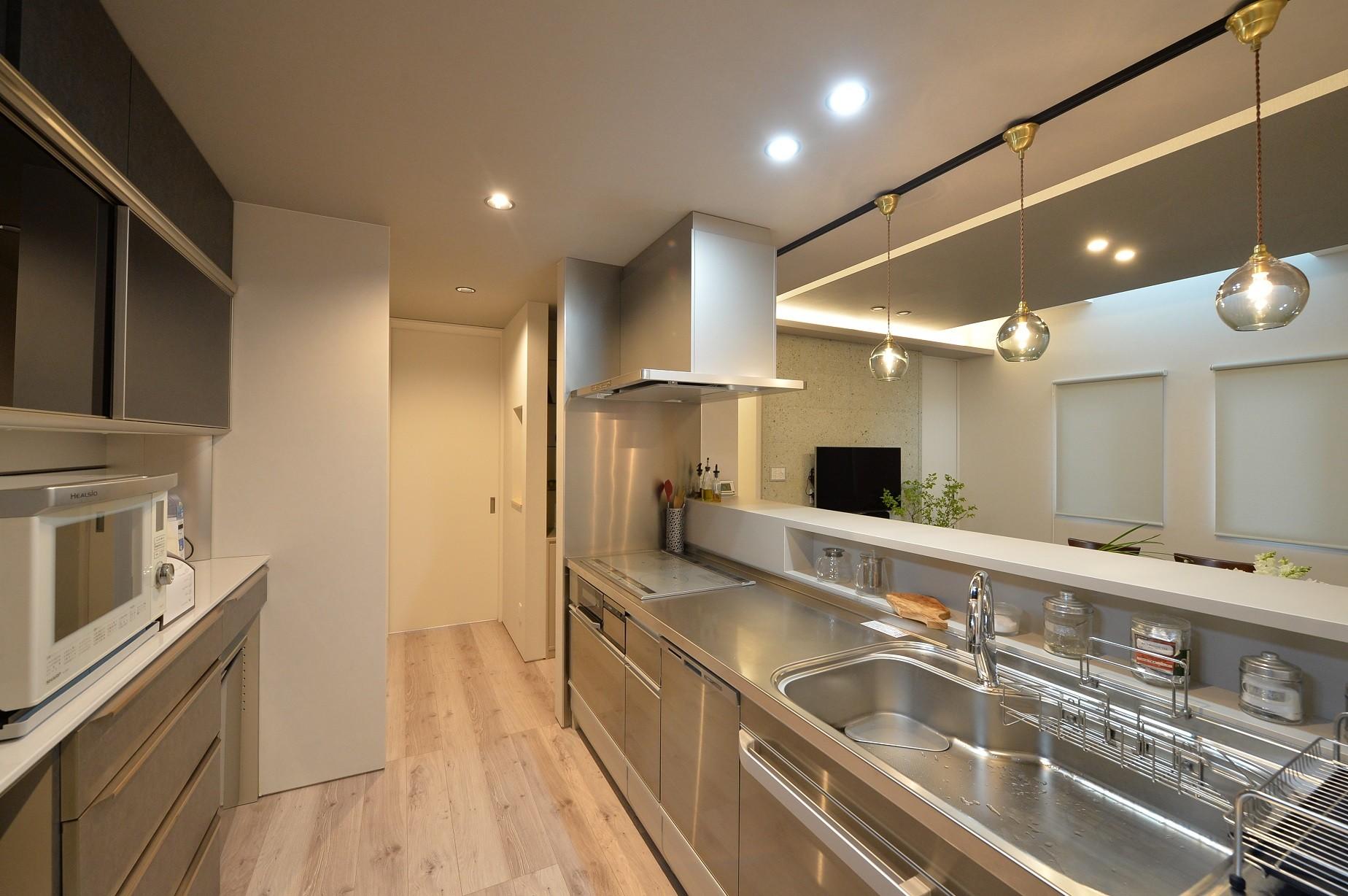 キッチン事例:キッチン(築23年1階フルリノベーション)