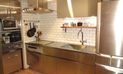 東京都目黒区K様邸 お施主様と実現する理想のキッチン
