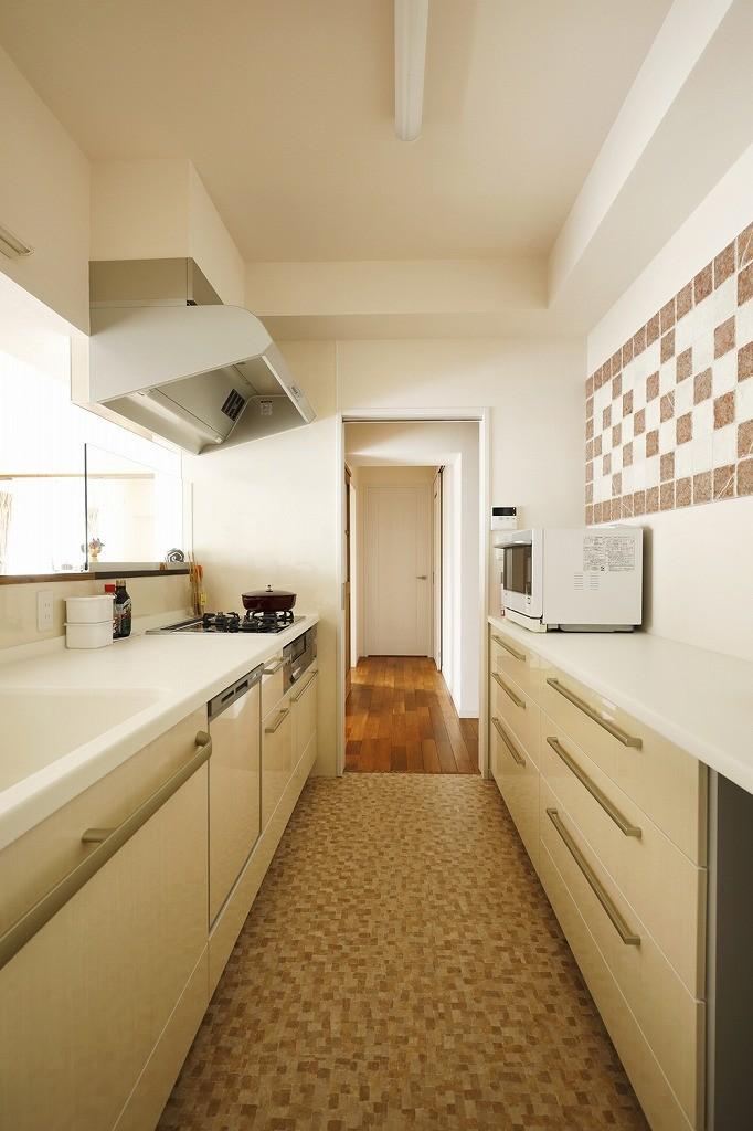 キッチン事例:キッチン(光と風をとり込んで ゆとりを楽しむ大人時間)