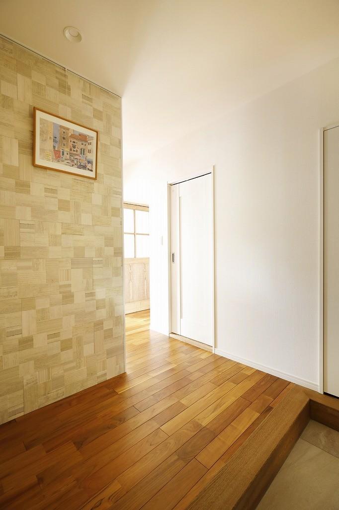 玄関事例:玄関(光と風をとり込んで ゆとりを楽しむ大人時間)