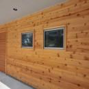 傾斜地を活かしたスキップフロアの家の写真 外壁
