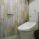 ストライプ×ストライプ【S様邸】の写真 トイレ