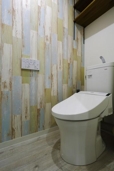 トイレ (ストライプ×ストライプ【S様邸】)