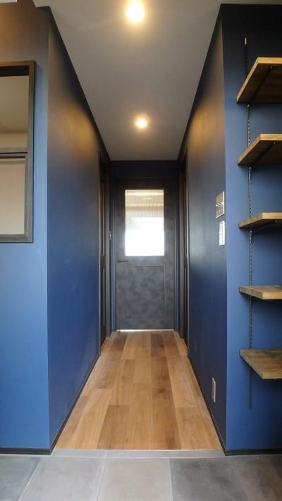 玄関・廊下 (ストライプ×ストライプ【S様邸】)