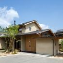 小笠原建築研究室の住宅事例「眺望とお庭を楽しむ|火のある暮らしを楽しむ住まい 天理の家」