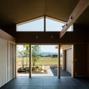 眺望とお庭を楽しむ|火のある暮らしを楽しむ住まい 天理の家の写真 景色を楽しむ