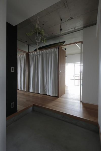 玄関 (高槻のマンションリフォーム)